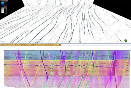 Petrel Structural Interpretation Petroleum Engineering Software Application