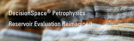 DecisionSpace® Petrophysics Petroleum Engineering Software Application