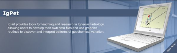 Igpet - igneous petrology Petroleum Engineering Software Application