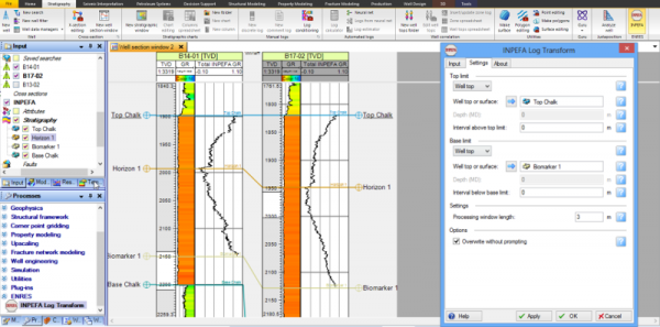 INPEFA® Petroleum Engineering Software Application