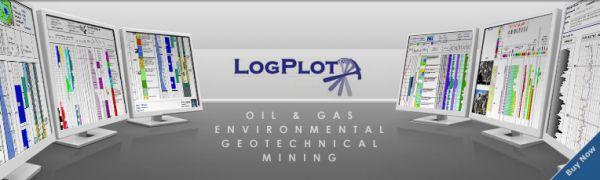 LogPlot Petroleum Engineering Software Application