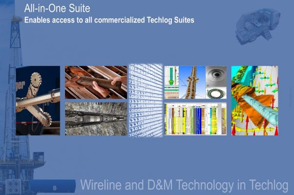 All-in-One Wireline Suite Petroleum Engineering Software Application