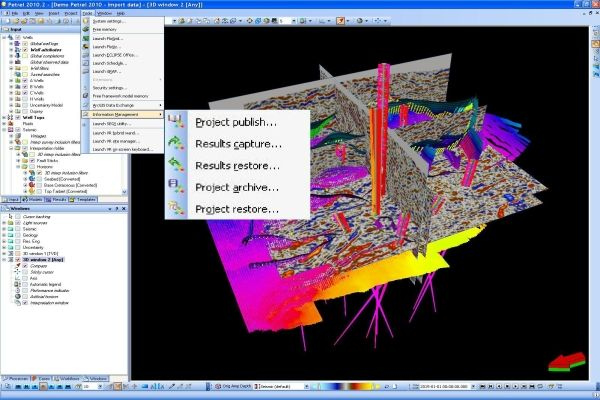 ProSource Results Petroleum Engineering Software Application