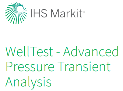 IHS WellTest Petroleum Engineering Software Application