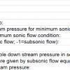 Gas Down Choke Pressure